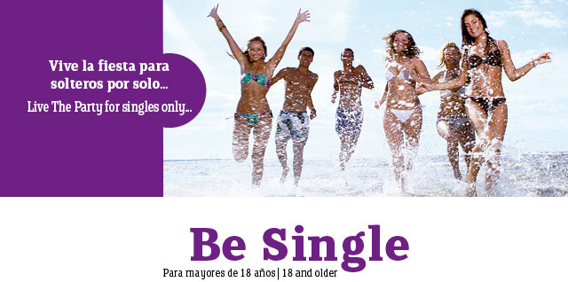 Fiesta de Solteras y Solteros Be Single