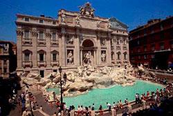 Fuente de Trevi - Roma, Italia