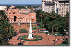 Buenos Aires - Plaza Central