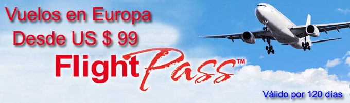 Flight Pass - Vuelos en Europa