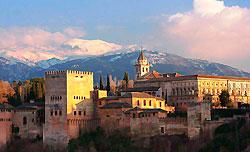 El Alhambra, Granada - España