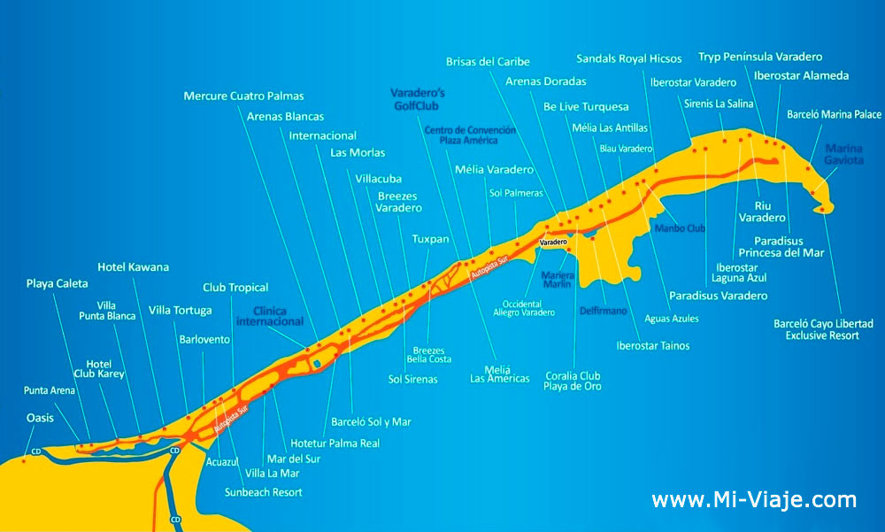 cancun resort map with Mapa Varadero on Mapa varadero besides ReviewPhotos G4053317 D1007582 R71482180 Secrets Maroma Beach Riviera Cancun Playa Maroma Playa del Carmen Yucatan Peninsula furthermore breezes additionally Hotel Bluebay Grand Esmeralda additionally Sunscape Sabor Cozumel All Inclusive.