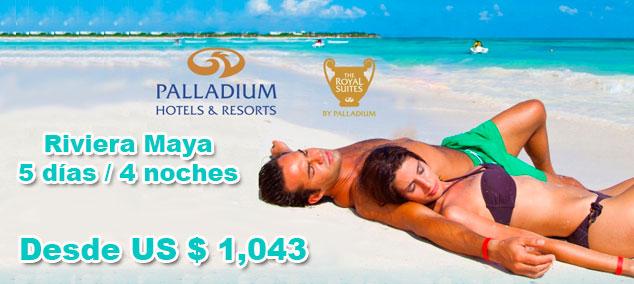 Tour en Riviera Maya con Palladium todo incluido