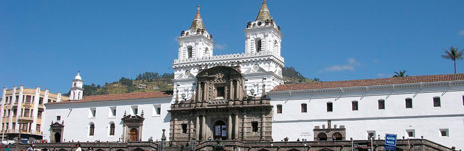 Tour en Quito Ecuador - Plaza Santo Domingo