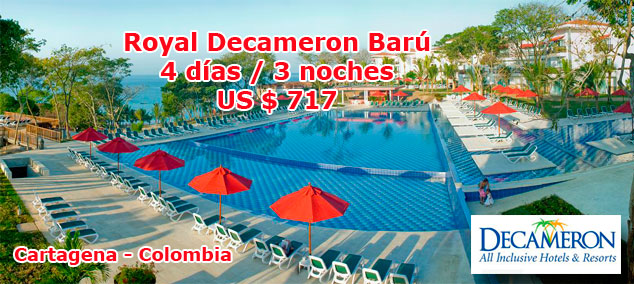 Royal Decameron Bar - Cartagena Colombia
