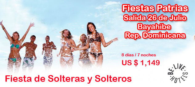 Fiesta de Solteros y Solteras