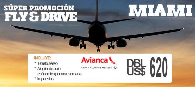 Miami Fly & Drive